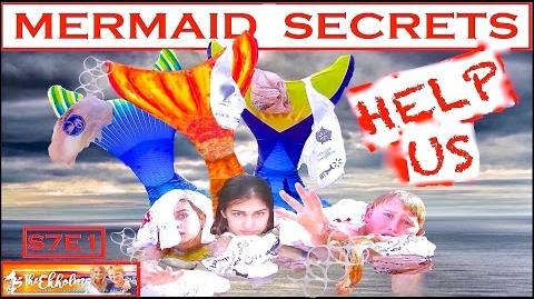 Mermaid Secrets of The Deep ~ S7E1 ~ HELP ~ The live action real mermaid show gets environmental ❤️
