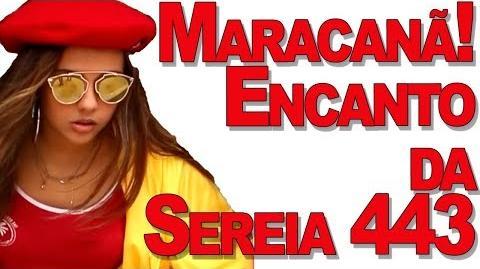 Mariana no Maracanã! Encanto da Sereia 443