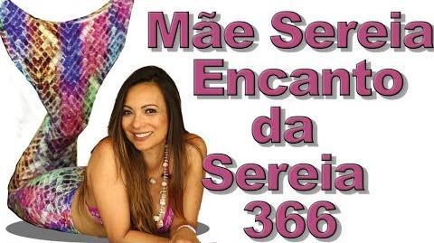 """""""Mãe Sereia"""" Encanto da Sereia 366"""