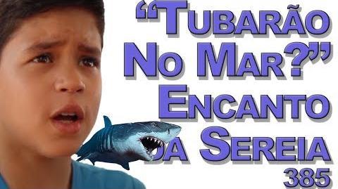 """""""Tubarão no Mar"""" Encanto da Sereia 385"""