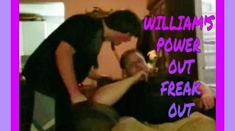 WILLIAMS POWER-OUT FREAK-OUT!!!