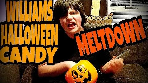 WILLIAM'S HALLOWEEN CANDY MELTDOWN!!!