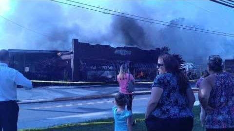 10,000 SQUARE FOOT BUILDING BURNED DOWN TO THE GROUND!!! (YOU MUST CHECK THIS TERRIBLE FIRE OUT!!)