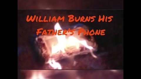 KID BURNS DAD'S PHONE