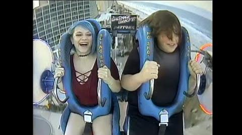 WIILIAM AND LUCY TAKE ON THE DAYTONA BEACH SLING SHOT!!