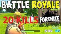 Solo vs SQUAD - 20 kills and 1v5 for the win! (Fortnite)