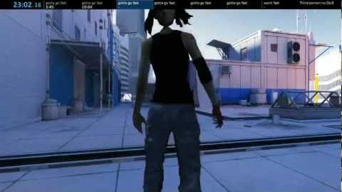 """Mirror's Edge would be much better in 3rd person"""