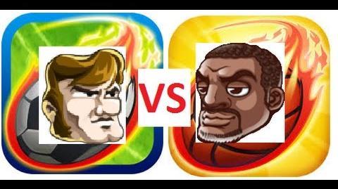 HEAD SOCCER VS HEAD BASKETBALL - USA VS Jeremy (USA)