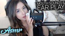 ASMR Mouth Sounds & Ear Play )
