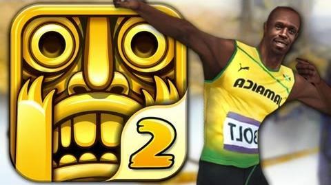 Temple Run 2 - USAIN BOLT - Part 10 (iPhone Gameplay Video)