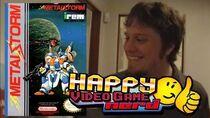 Happy Video Game Nerd Metal Storm (NES)