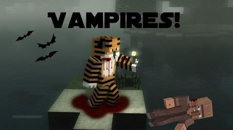"""I'M GOING TO SUCK YOUR BLOOD MWAHAHA!"" The Vampirism Mod Minecraft Mod Showcases"