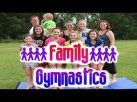 Family Gymnastics Challenge!