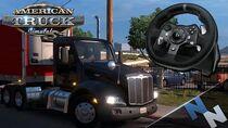 American Truck Simulator Live 7 - Logitech G920 Review