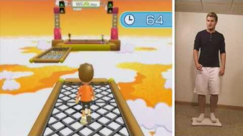 Gameplay - Wii Fit Plus (Obstacle Course)