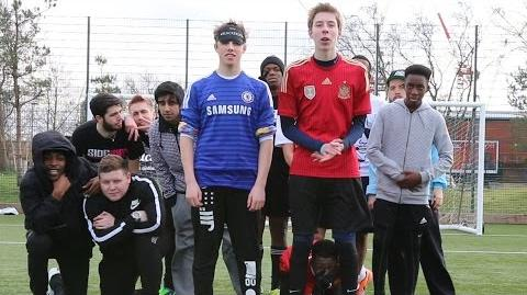 YOUTUBERS BLINDFOLDED PENALTIES!
