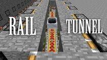 """Zipper"" Rail Tunnel - Minecraft Invention (With Tutorial)"