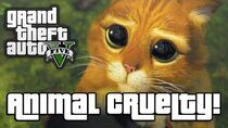 GTA V ANIMAL CRUELTY! (GTA 5 Next Gen Funny Moments)