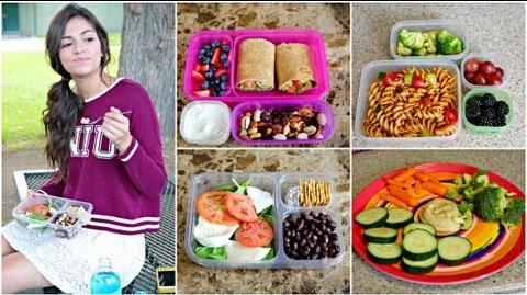 Healthy Back to School Lunches After School snack ideas!