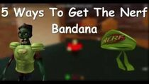 Roblox 5 ways to get the nerf bandana ( pizza place event )