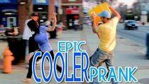 Epic Cooler Prank!!