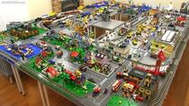 LEGO city walkthrough Summer 2015! A 245 sq. ft