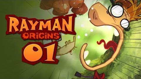 Rayman Origins CO-OP 1 - Rayman Oranges!
