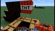 Minecraft How to Make a TNT Cannon With a Custom Speed