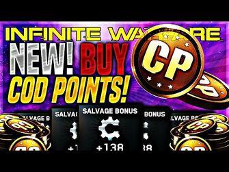 "IW GAME UPDATE! COD POINTS RETURN!! - *NEW* INFINITE WARFARE ""COD POINTS"" (FREE COD POintS)"