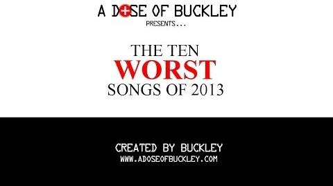 The Ten Worst Songs of 2013
