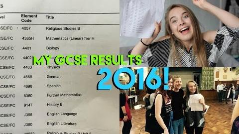 MY GCSE RESULTS 2016! Eve