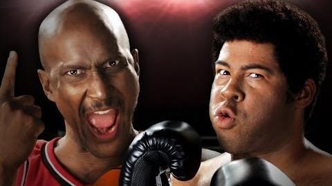 Michael Jordan vs Muhammad Ali. Epic Rap Battles of History Season 3