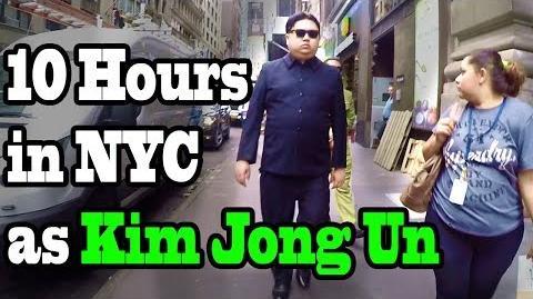 10 Hours of Walking in NYC as Kim Jong Un