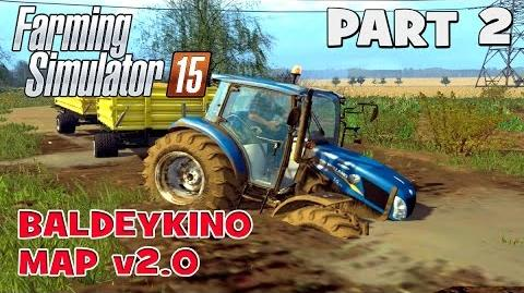 Let's Play Farming Simulator 2015 Baldeykino Map Part 2