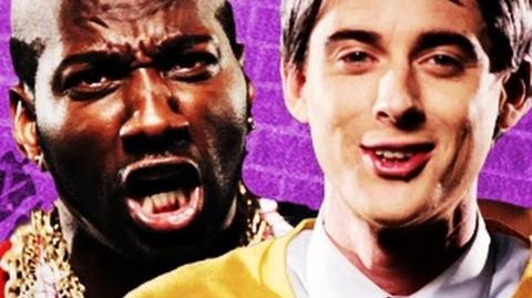 Mr T vs Mr Rogers