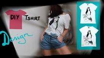DIY T shirt ART