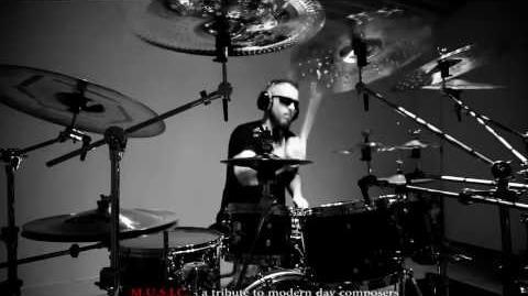 Drummer, Seth Davis Recording Drums Music