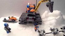 Lego in the Snow