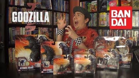 Godzilla (2014) Bandai Toys Review - Aficionados Chris