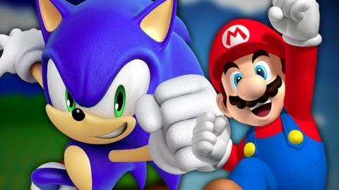 Mario vs Sonic the Hedgehog - Epic Rap Battles of Cartoons 7