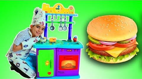 Vlad Pretend Play Food Cooking Kitchen Toys Set for Kids