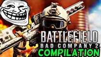 BATTLEFIELD BAD COMPANY 2 EPIC & FUNNY MOMENTS COMPILATION!! ONLINE (PRO SNIPING,KNIFE KILLS)