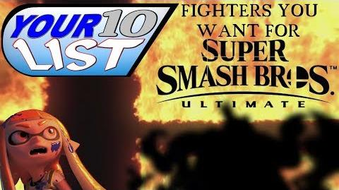 10 Characters YOU want in Super Smash Bros