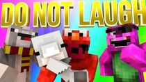 Minecraft Mini-Game DO NOT LAUGH - ELMO IS CRAZY AND DADA COMMITS WITCHCRAFT!