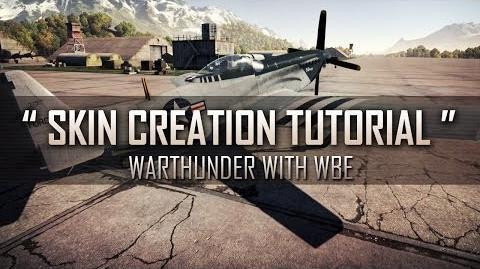 """"""" How to make User Skins! """" - War Thunder Custom Skin Tutorial"""