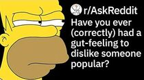 When Has Your Bad GutFeeling Been Right About a Person? (Reddit Stories r AskReddit)