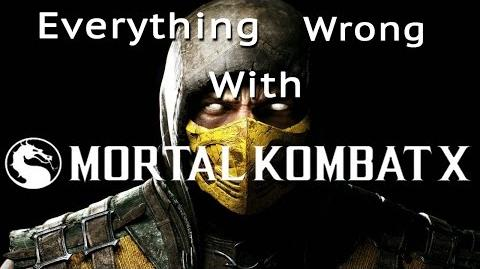 GamingSins Everything Wrong with Mortal Kombat X