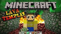 MINECRAFT LAVA TEMPLE!!!