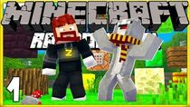 Max and Ross! Minecraft Randomizer Survival 1!