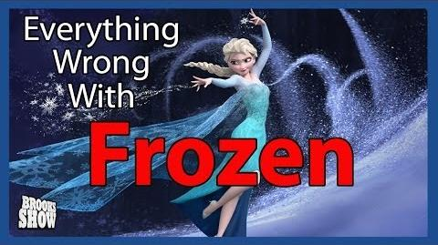 Everything Wrong With Frozen in 5 Minutes Or Less